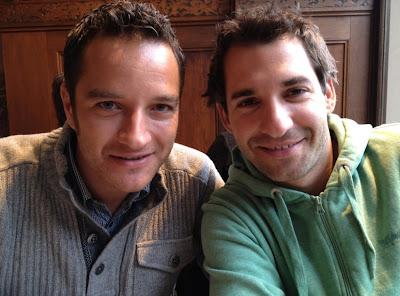 Тимо Глок и Тимо Шайдер перед Гонкой чемпионов 2011