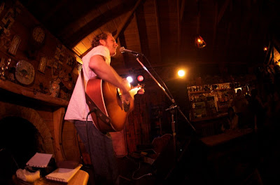 Jesse Rivest at The Mussel Inn 2010