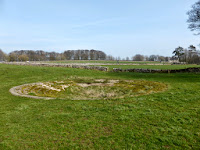 I think this is called a Dew Pond. It was not far from the Alsop En Le Dale Car Park