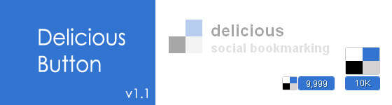 Delicious Button - A jQuery Plugin