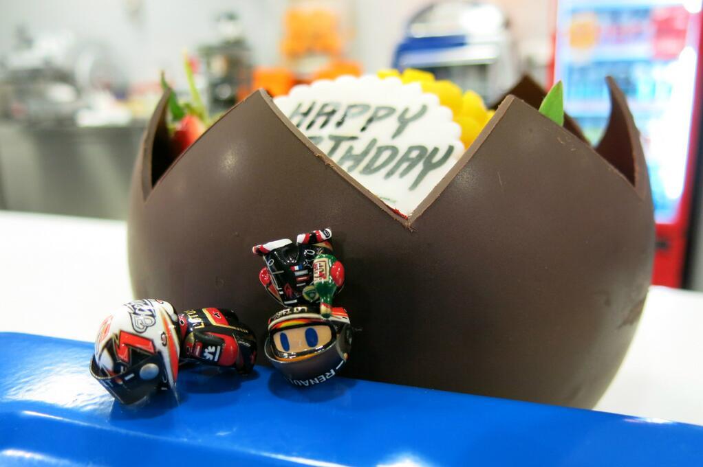 Happy Birthday Ромэн Грожан на Гран-при Бахрейна 2013