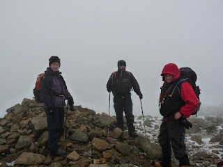 Jo Darren and John at Green Gable summit