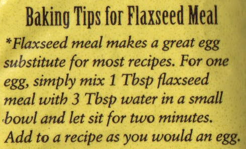 Baking Tips for Flaxseed