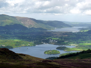 Derwent Water & Bassenthwaite from near Bleaberry Fell
