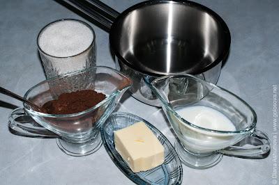 глазурь для торта из какао