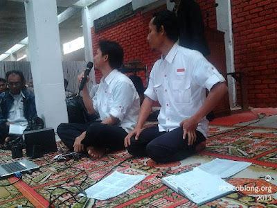 Pembicara materi dari DPD PKS Kota Bandung