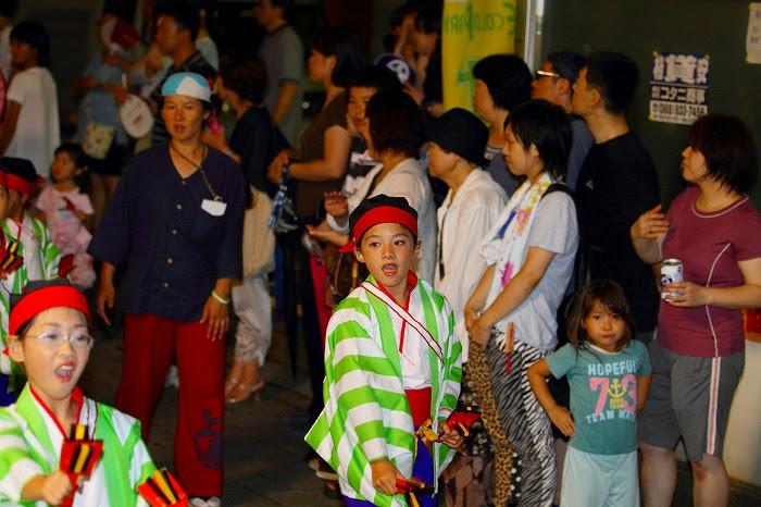 第59回よさこい祭り☆本祭2日目・上町競演場56☆上2目0332
