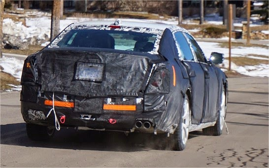 cadillac ct6 spy shots