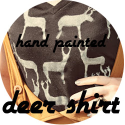 Deer Print T-Shirt