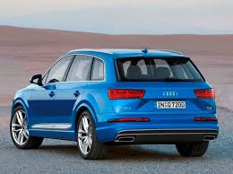 2017 Audi Q7 Release Date First Drive Review Specs Interior engine Car Price Concept