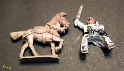 ME-21  Boromir of Gondor montado a caballo