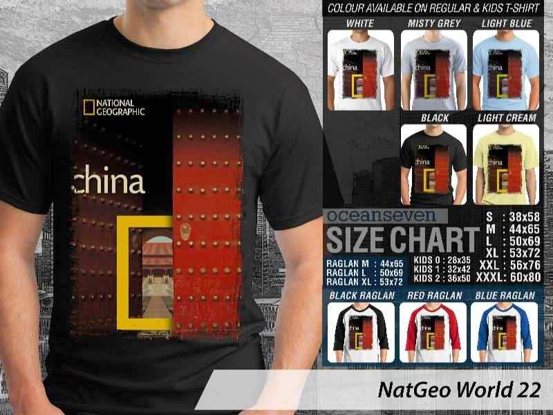 Kaos National Geographic NatGeo World 22 distro ocean seven