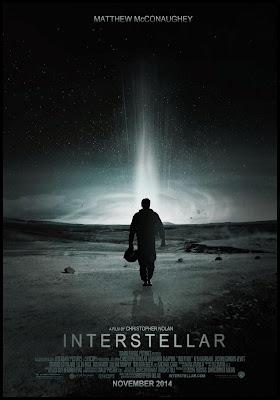Interstellar 2014, movie theatre poster