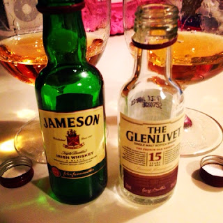 Jameson vs Glenlivet 15