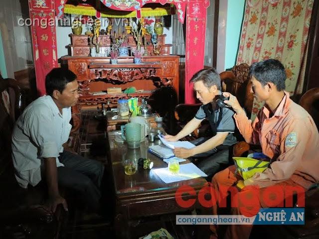 Chi nhánh Điện lực Đô Lương xử lý trường hợp trộm cắp điện