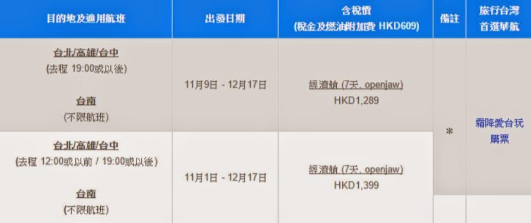 華航網址:http://www.china-airlines.com