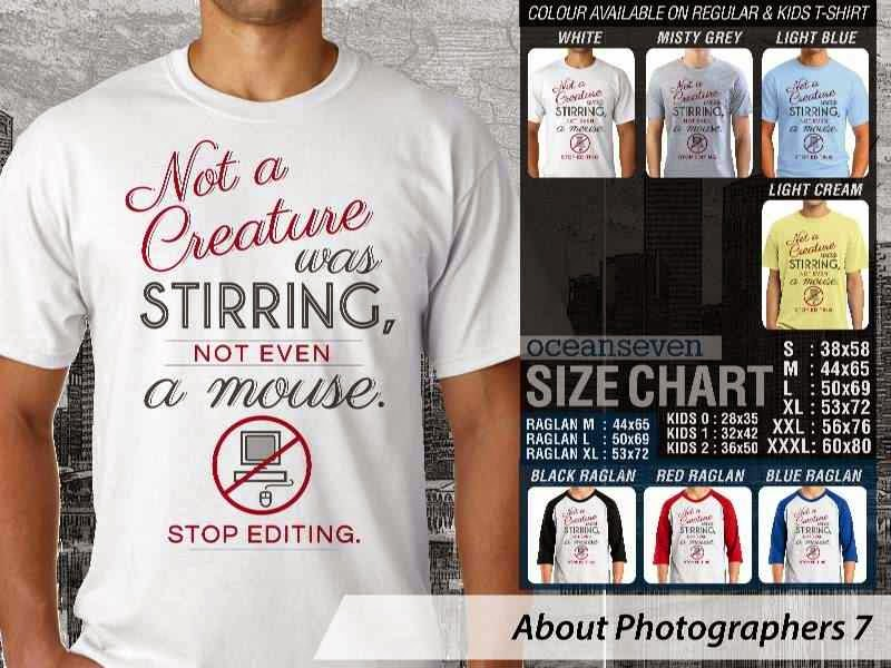 KAOS Photography Not a Creature was stirring About Photographers 7 distro ocean seven