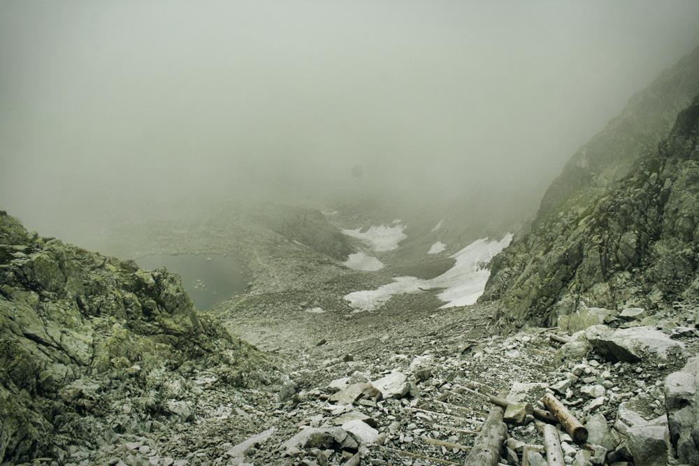 Lodowa Przełęcz szlak