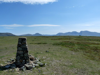 Great Gable and Scafells from Seatallan
