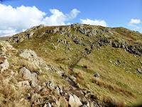 Gibson Knott ridge route