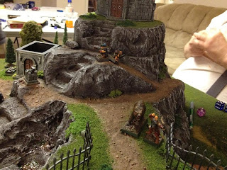 Bear-tamer Martin and the Dwarves gain the cemetery