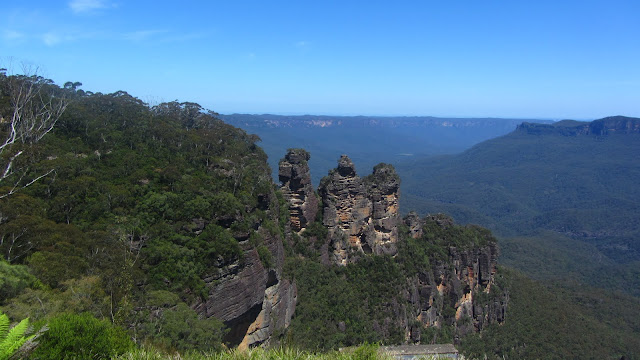 The beautiful Blue Mountains.
