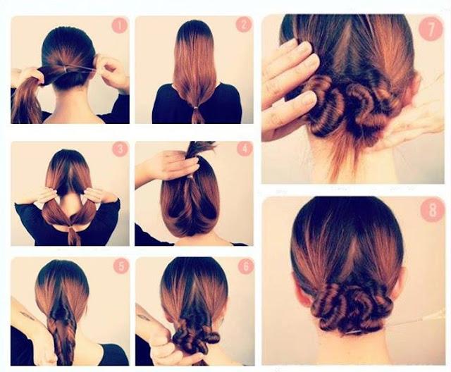 Peinados sencillos juveniles paso a paso - Peinados faciles y rapidos paso a paso ...