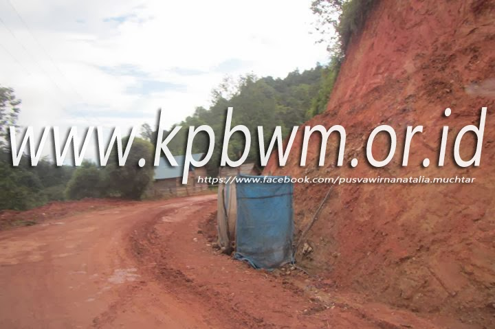 fasilitas toilet di jalur polman mamasa