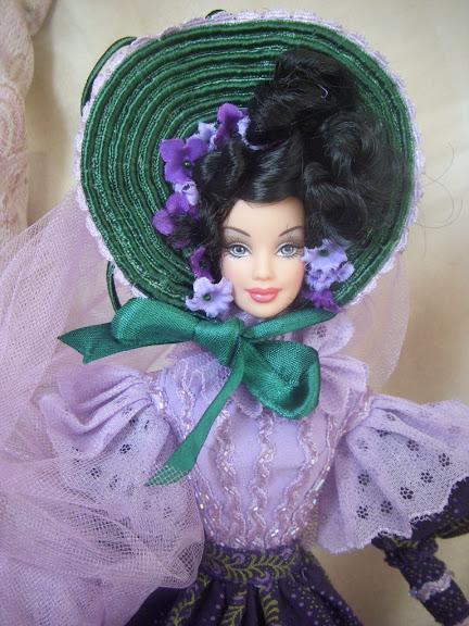 Кукла в шляпке своими руками