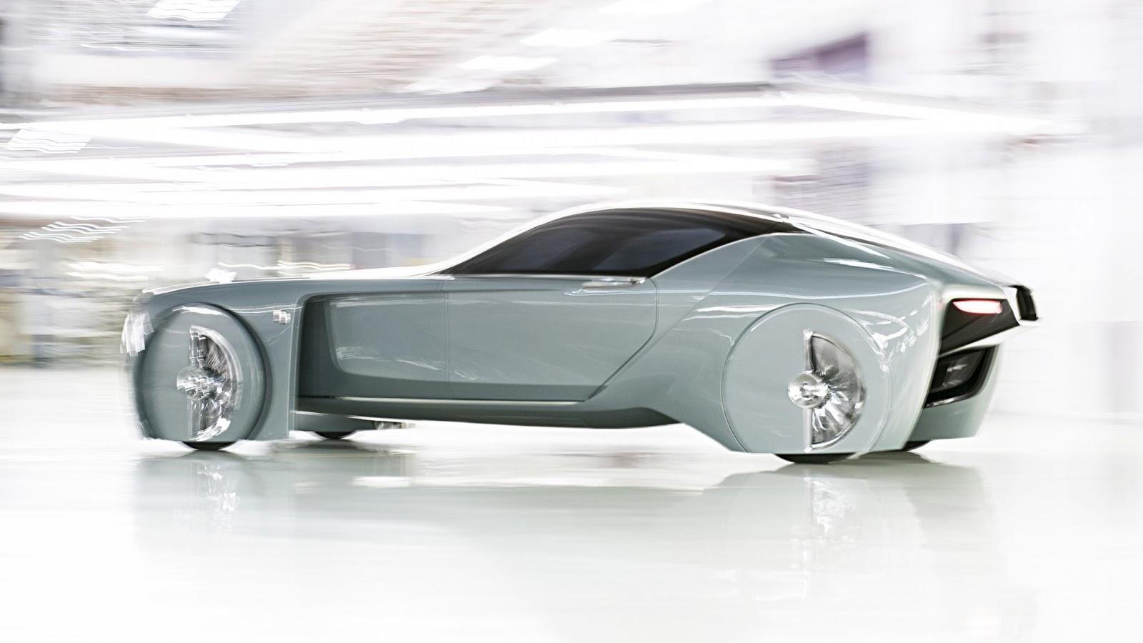 Chiếc Rolls Royce Vision Next 100 không khác gì siêu xe