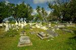 Cmentarz pokolonialny na La Digue.