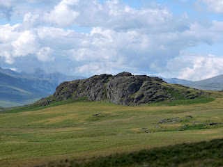... and Great Crag again from a bit further away.