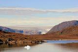 Polar Ice Cap and the Greenlandic Coastline -- Scenic Greenland