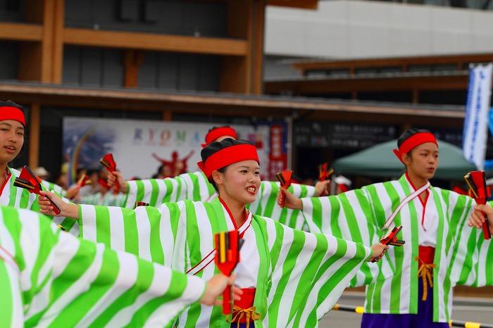 第59回よさこい祭り☆本祭2日目・高知駅前演舞場32☆上2目0598