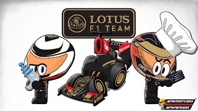 Кими Райкконен и Ромэн Грожан представляют Lotus E21 - MiniDrivers 2013