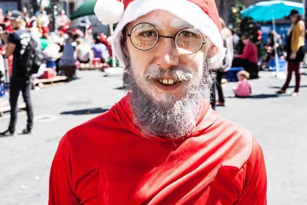 Hadley is not a very good Santa