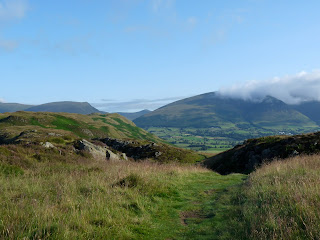 Blencathra in some rogue cloud.