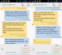 Contoh Pesan SMS Meragukan 3-4