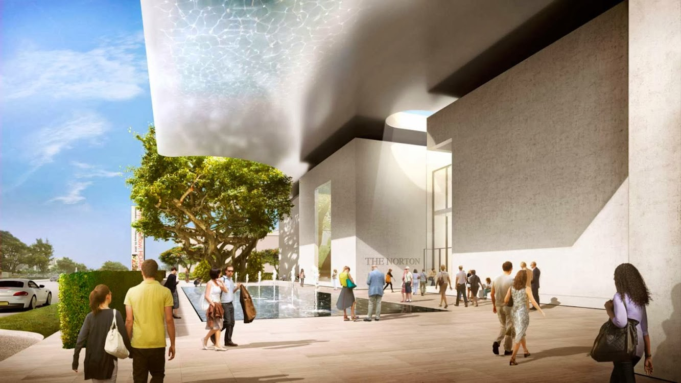 West Palm Beach, Florida, Stati Uniti: Expansion Norton Museum of Art by Foster + Partners