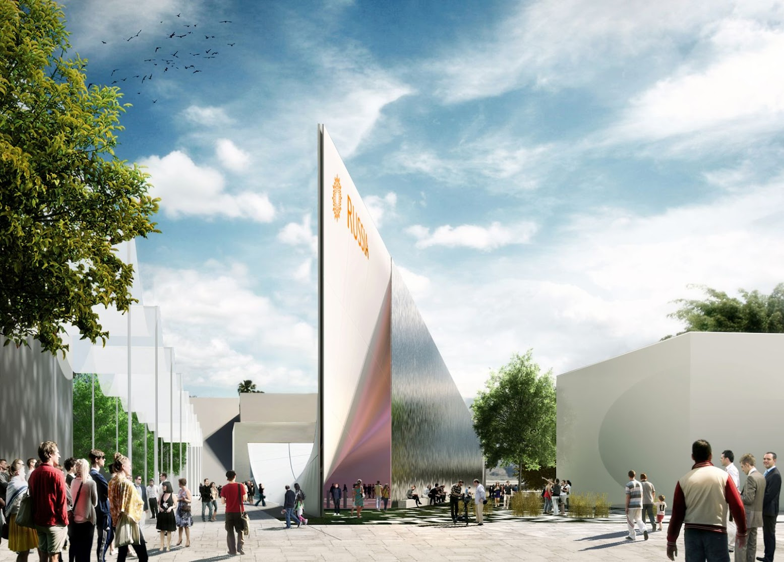 Russian Pavilion Expo 2015 by Architects of Invention