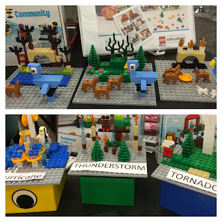TCEA Lego display