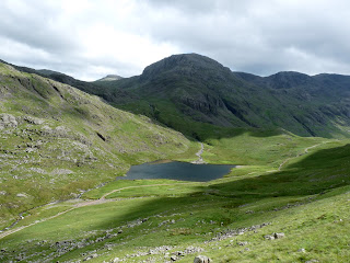 Styhead Tarn and Great Gable ... errr I mean End!!