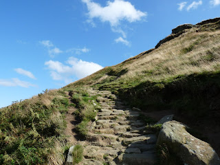 A steepening path