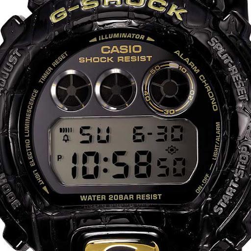 g shock dw 6900 manual