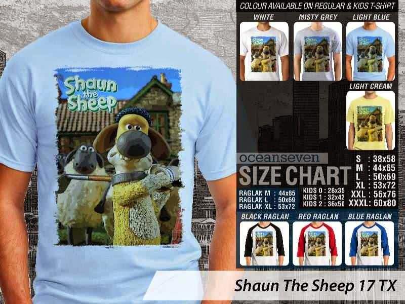 Kaos Movie Shaun The Sheep 17 distro ocean seven