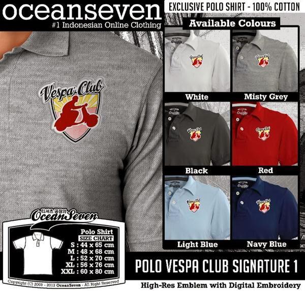 POLO Vespa 1 Logo distro ocean seven