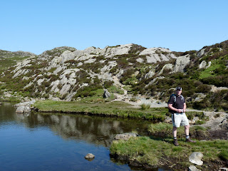 Richard at Innominate Tarn.