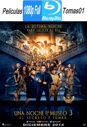Una Noche en El Museo 3: Secreto de la Tumba (2014) BRRipFull 1080p