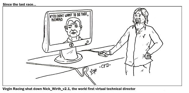 комикс Stuart Taylor про Ника Вирта