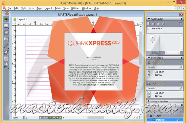 QuarkXPress 2015